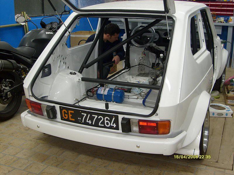 In Preparazione Fiat 127 Gr 2 Durante La Preparazione