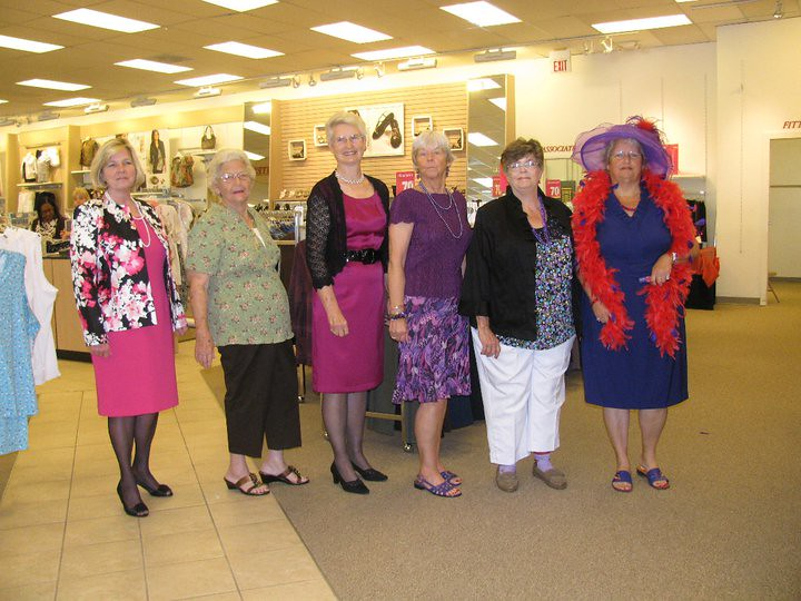 Wild Huckleberries April Meeting The Red Hatters ate lunch…