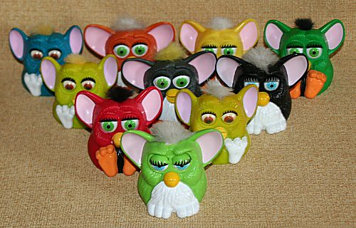 McDonalds Furby Toys from 1998 | 28 McDonalds Furby Toys ...