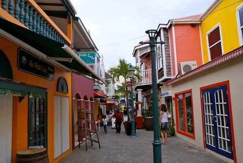 Philipsburg, Sint Maarten, mei 2011