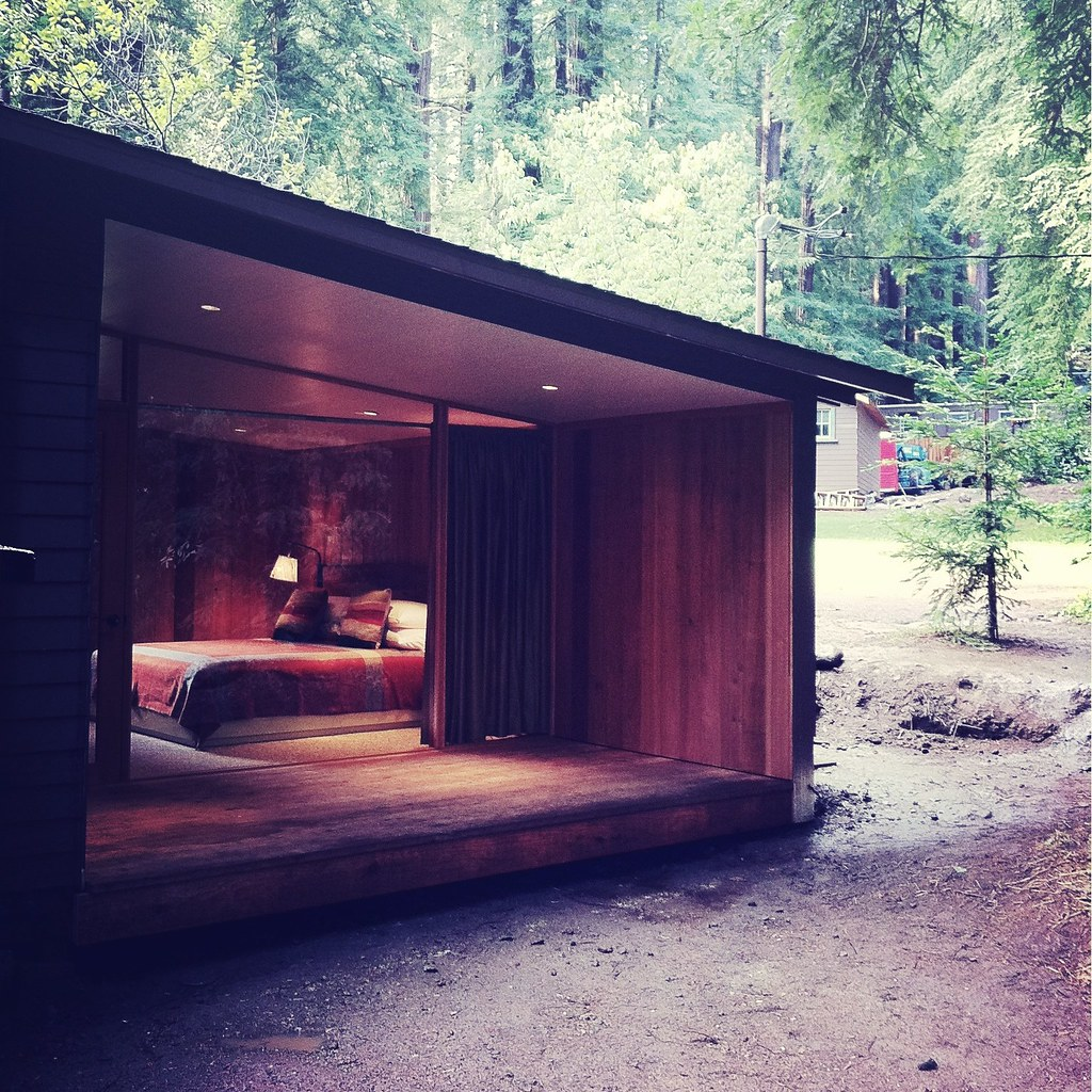 Big sur cabin the redwood grove at glen oaks big sur ca for Big sur cabin