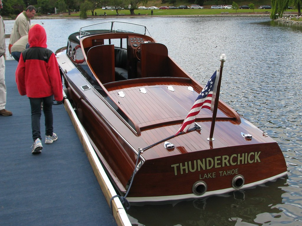 2003 Thunderchick 36 39 Boat Stone Boat Yard Commuter From L