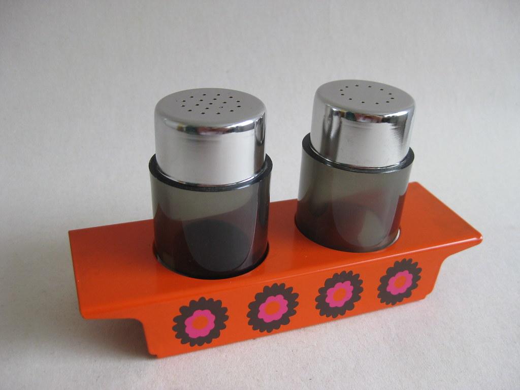 Funky Vintage Brabantia Salt Pepper Shakers The Company
