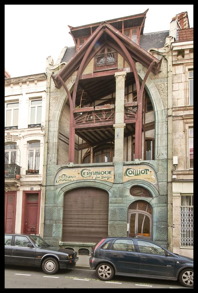 La maison coillot lille ceramique coilliot rue fleurus for 82 rue brule maison lille