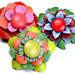 New flower brooches