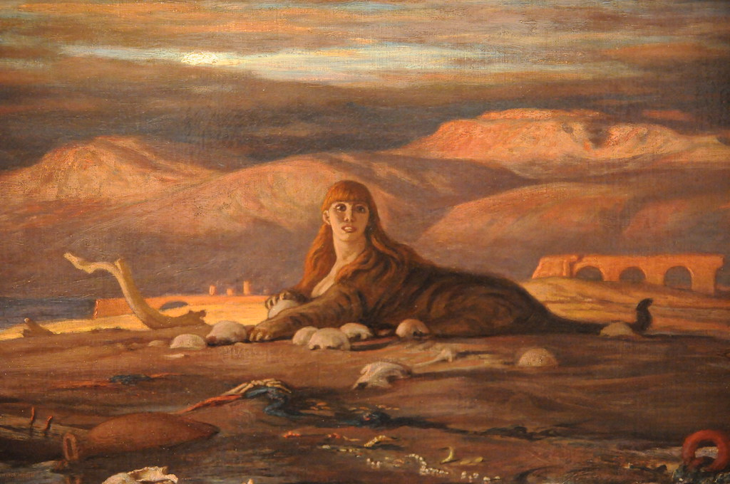 the sphinx of the seashore elihu vedder 1879 de young