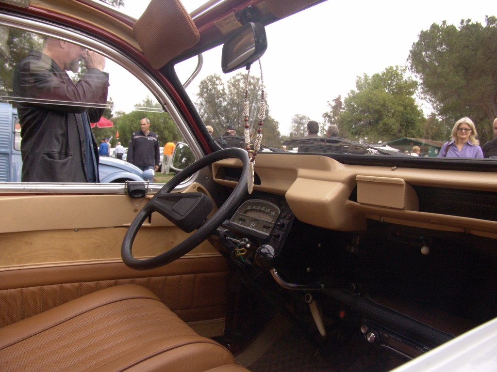 2cv Interior Citroen 2cv Interior | by