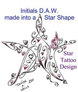 Star Tattoo Design by Denise A. Wells | by ♥Denise A. Wells♥