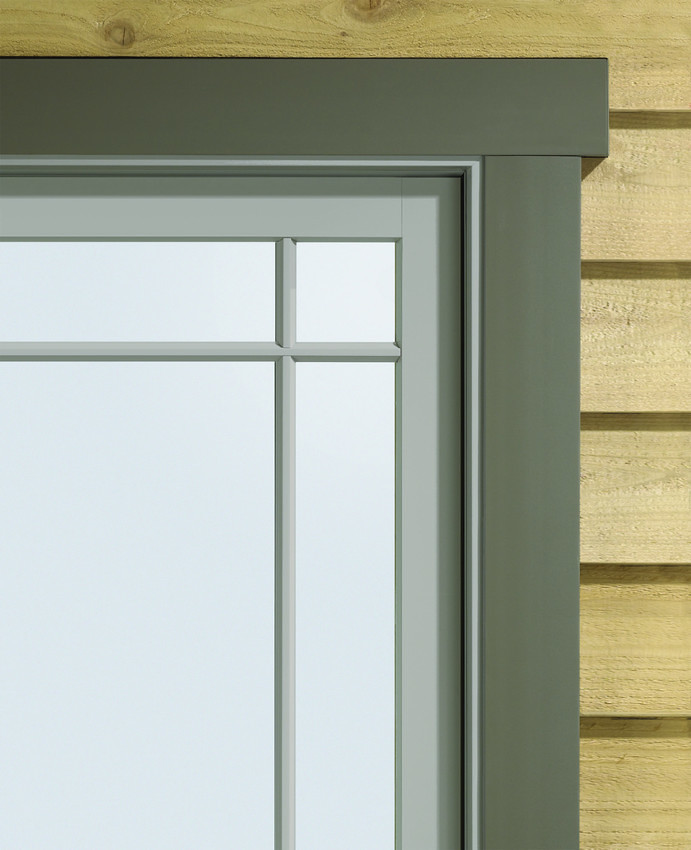 A Series Casement With Exterior Trim A Series Casement