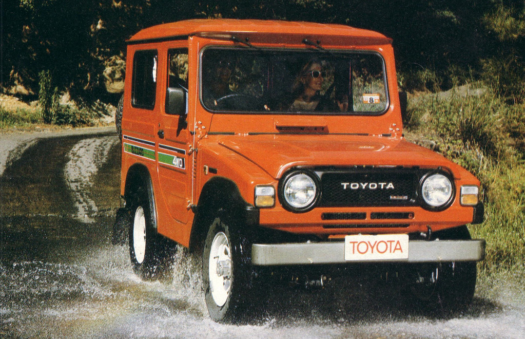 1982 Toyota Blizzard 4wd Press Photo Australia Covers