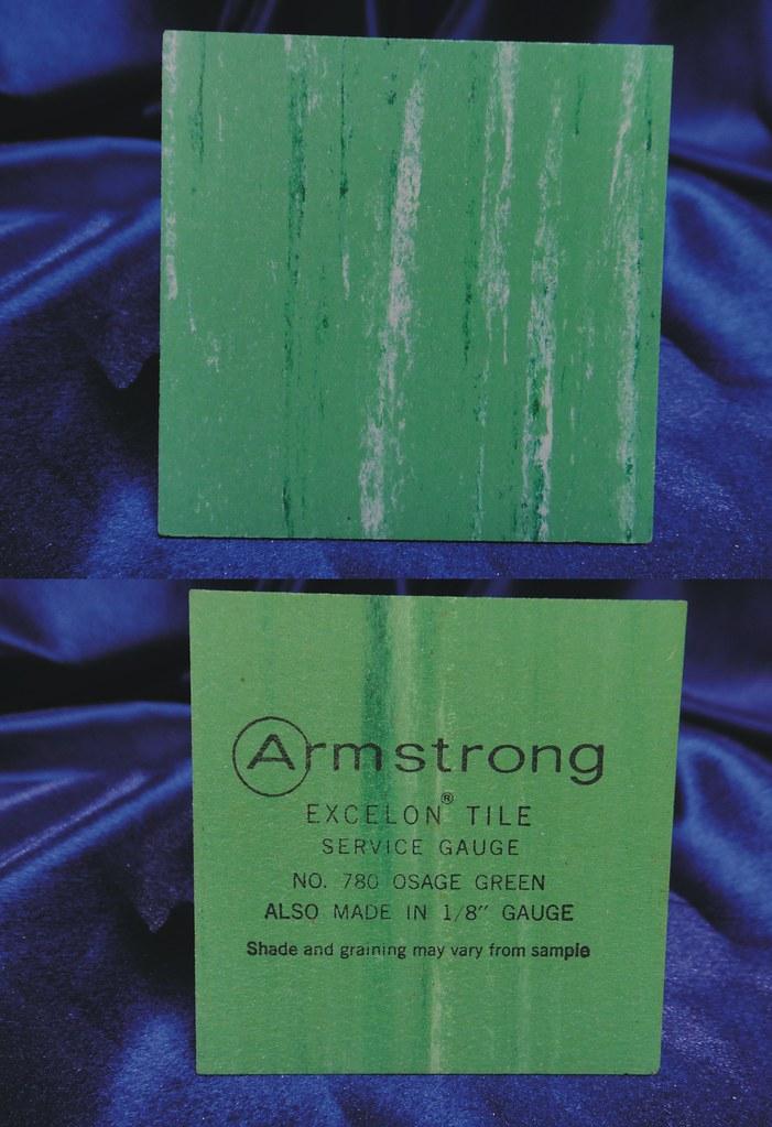 Armstrong Excelon Vinyl Asbestos Floor Tile Sample 780