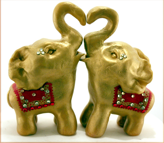 indian elephant wedding cake toppers decorated indian elephant wedding cake topper explore 16401