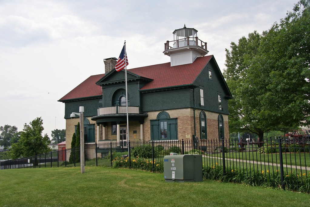 Old Michigan City Lighthouse Museum Michigan City Indiana Flickr