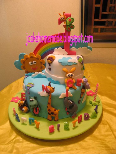 Baby Tv theme birthday cake  Flickr - Photo Sharing!