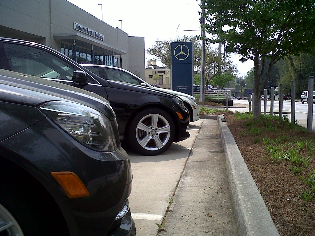 mercedes benz of buckhead had to take my car for service