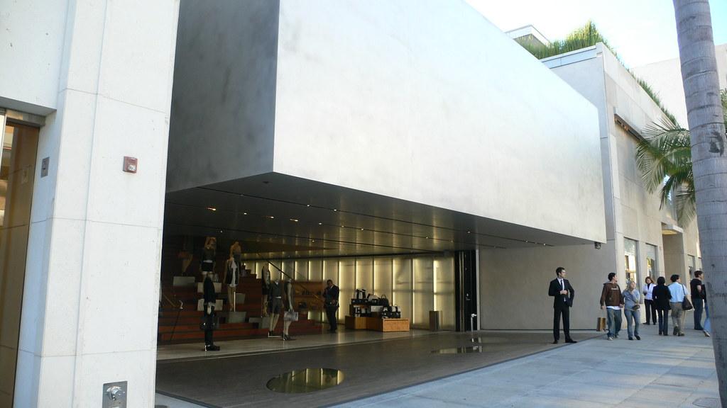 Prada Epicenter Beverly Hills Los Angeles Flagship Stor
