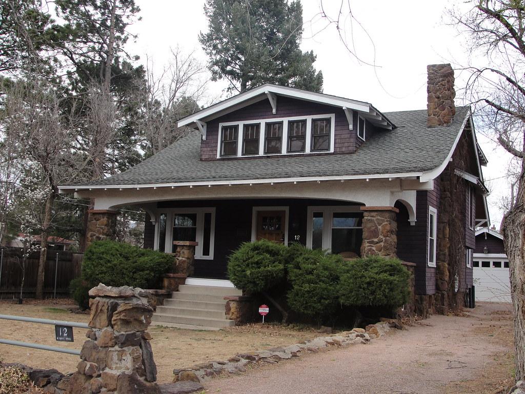 Craftsman bungalow colorado springs colorado bossco for Craftsman cottage