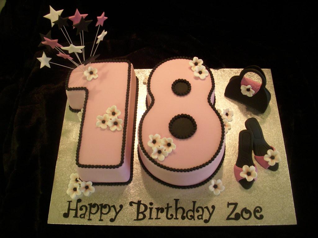 No 18 Birthday Cake Louise Jackson Flickr