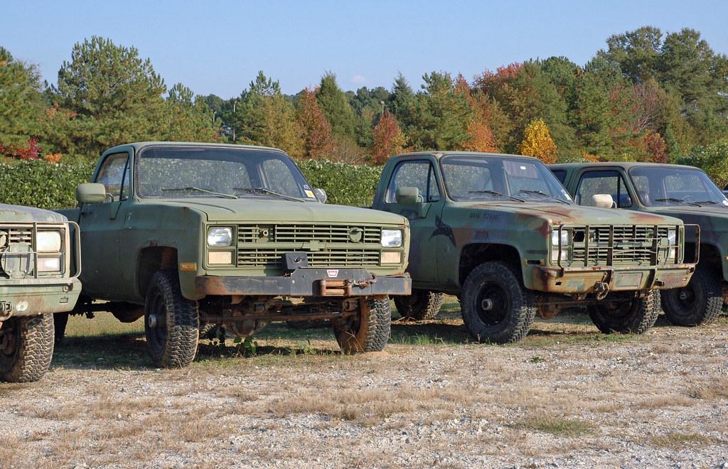 m1008 cucv graveyard truck utility 3 4 ton 4x4 m1008