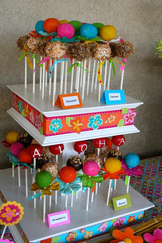 Pool Party Cake Pop Ideas