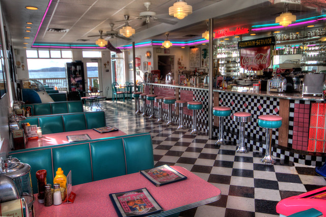 Nifty Fifties Ice Cream Shop | Flickr - Photo Sharing!