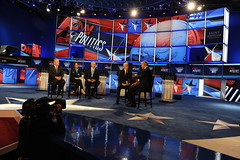 Anderson Cooper 360 broadcasts from the debate stage