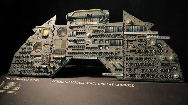 Apollo Command Module console | Flickr - Photo Sharing!
