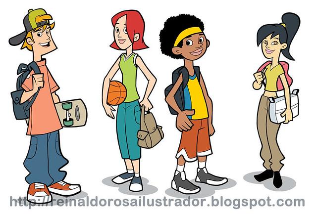 Derechos de autor adolescentes cuties adolescentes
