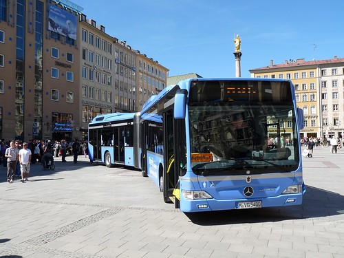 MB Citaro Hybrid am Marienplatz