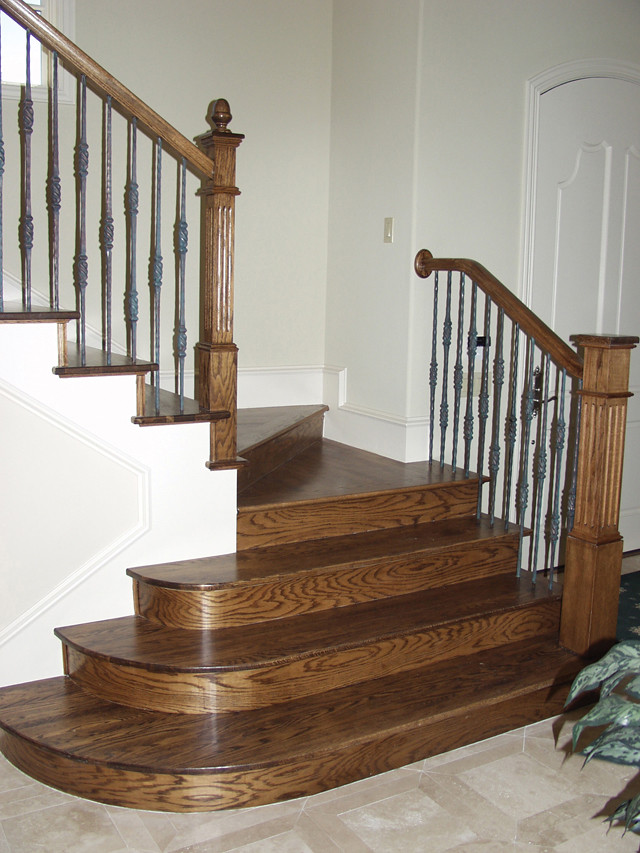 Cheap Stair Parts 198 Custom Stain Grade Wood