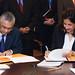 IMF and Mauritius signing