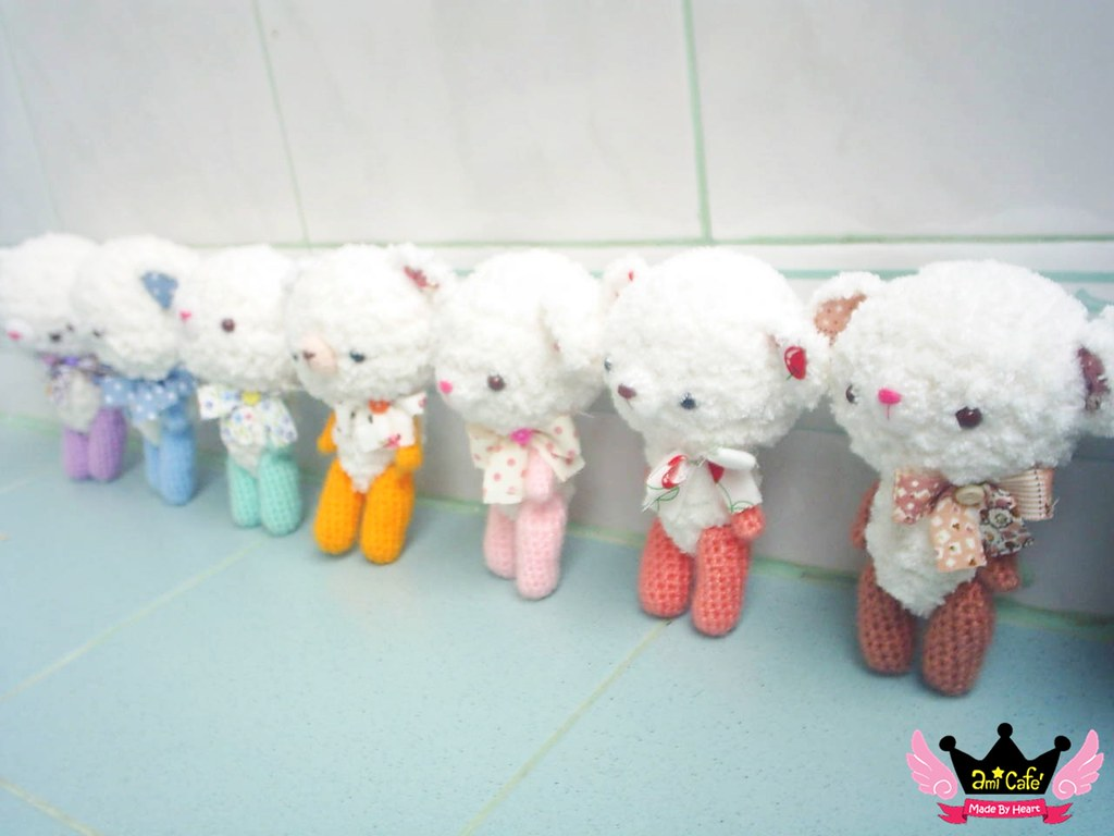 Amigurumi Animal Kit : Amigurumi Bear crochet KIT by Ami Cafe I am pleased to ...