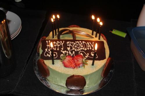 Birthday Cake Jim Carrey