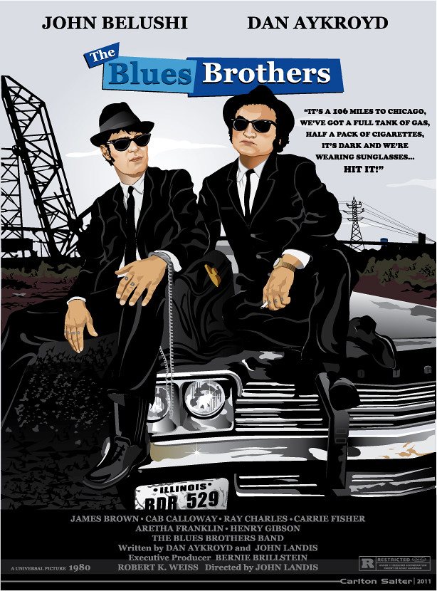 the blues brothers movie posterart my new quotblues
