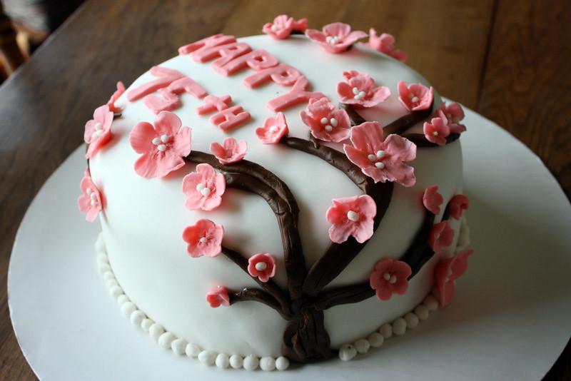 Happy Birthday Ashley Cake Chocolate