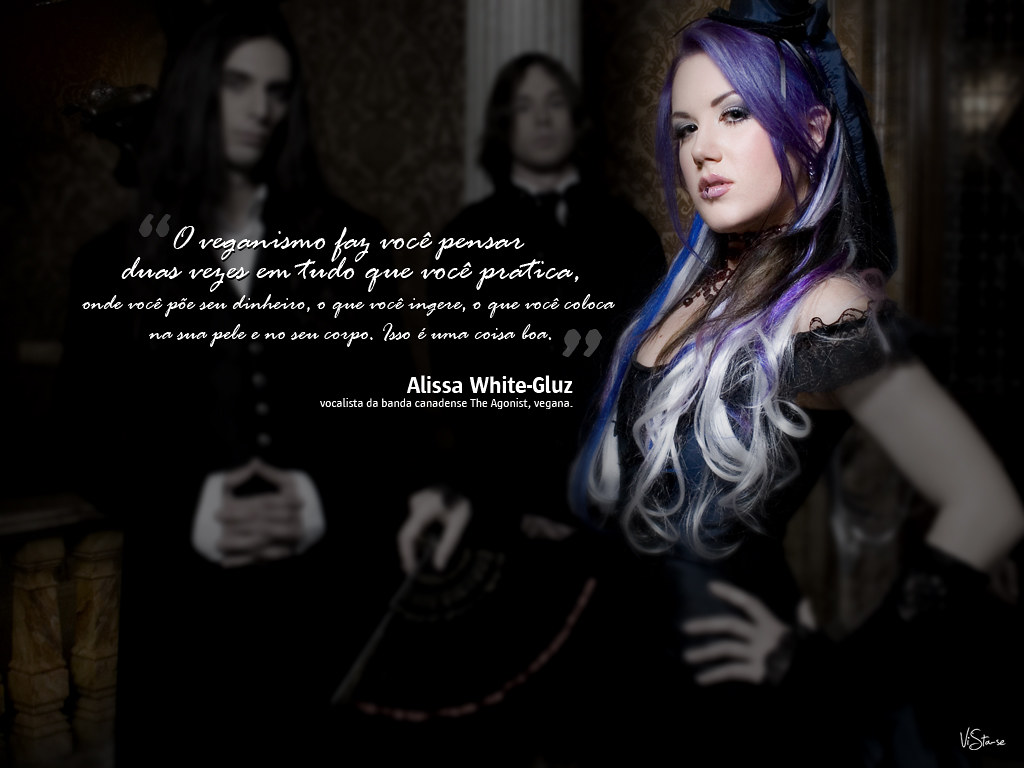 Alissa White-Gluz | www.vista-se.com.br/passeata | Vista ...