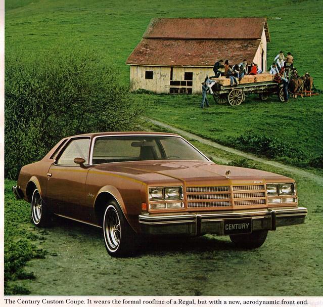 Buick Regal 2 Door Coupe: 1976 Buick Century Custom Coupe