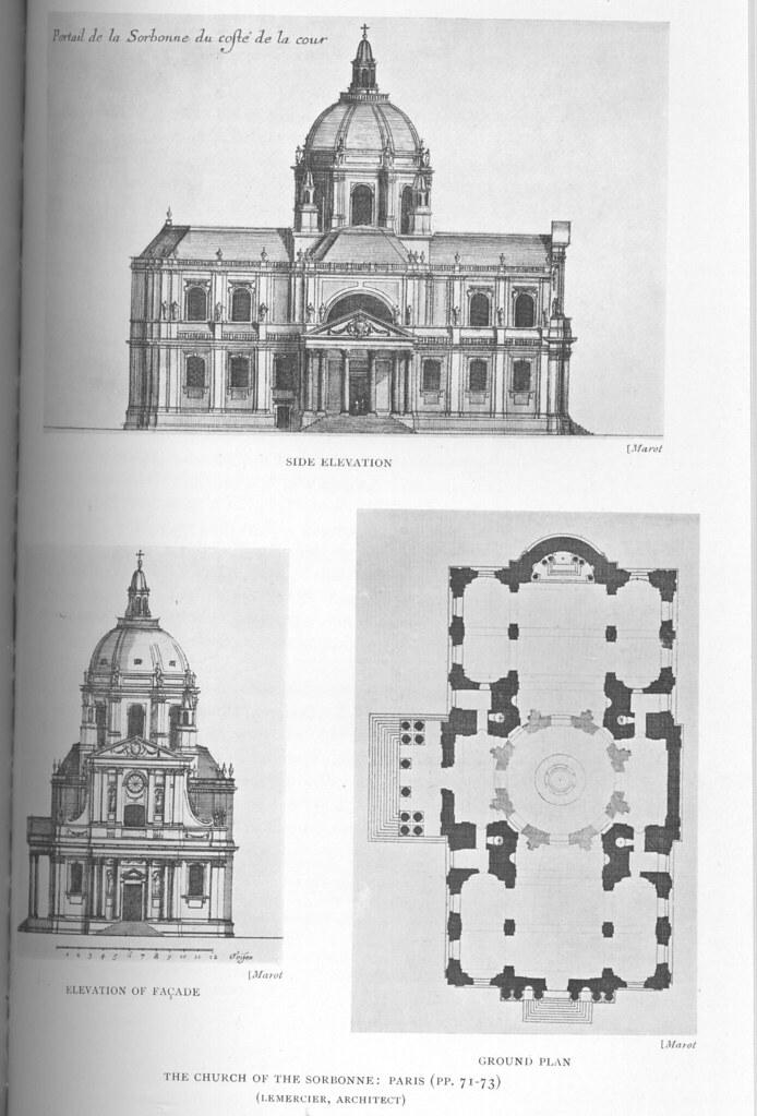 Church Of The Sorbonne Creator Lemercier Jacques 1585 Flickr