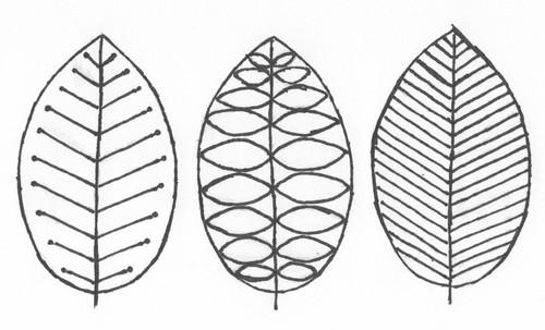 Iron Craft Challenge 21 Scandinavian Leaf Pillow