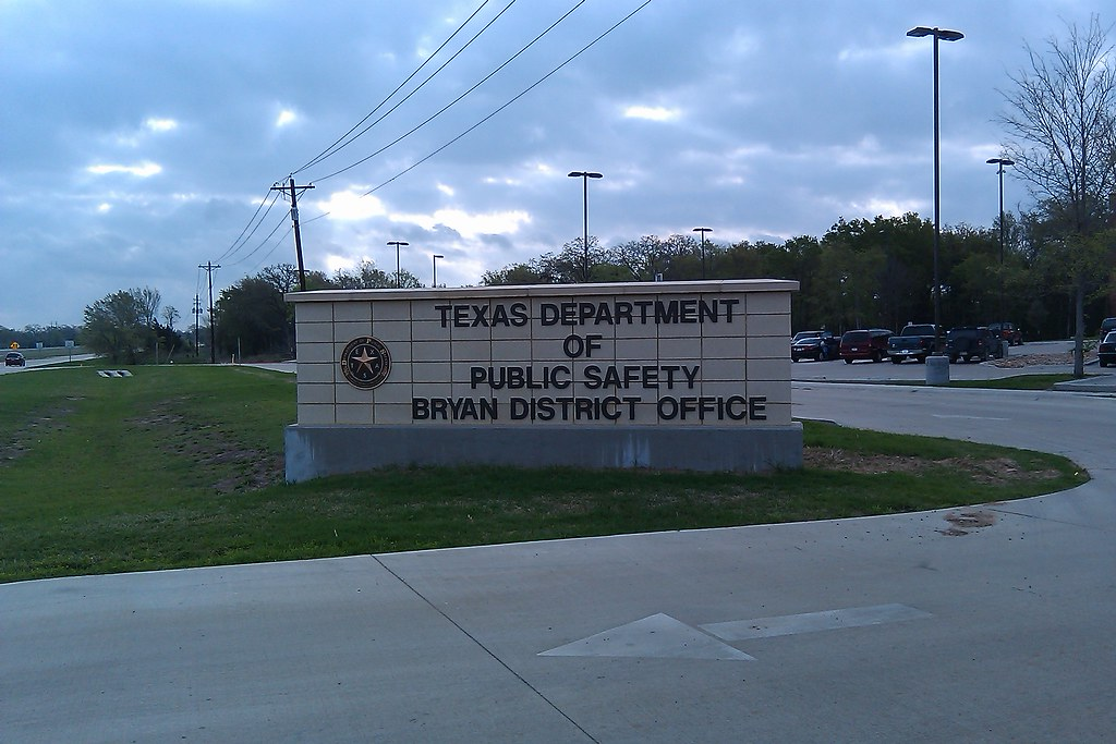 Dps Dmv Texas Department Of Public Safety Bryan District