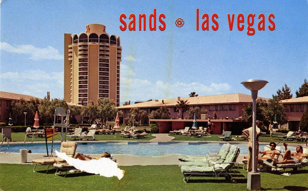 Sands casino las vegas nev vintage sanyo coilt gambling