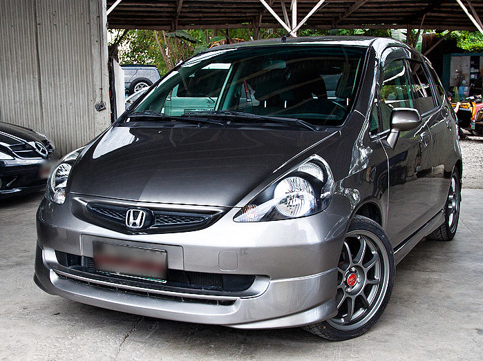 honda fit gray for sale in cebu city philippines condit flickr. Black Bedroom Furniture Sets. Home Design Ideas