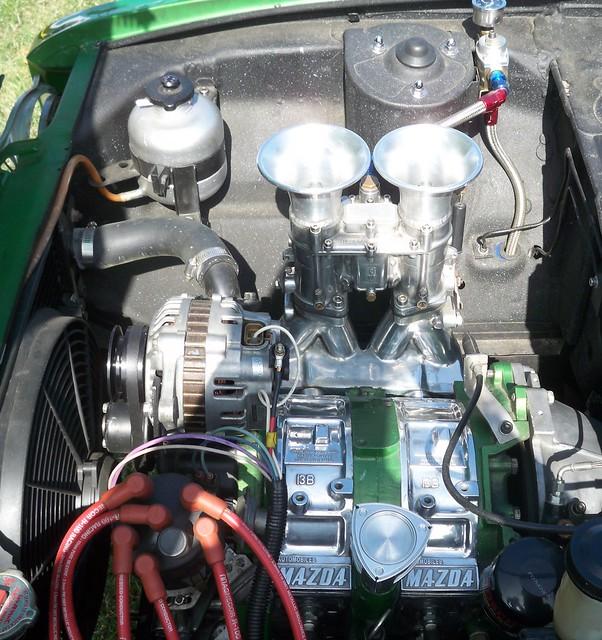13B Streetport Rotary Engine - 1971 mazda r100 | Flickr ...