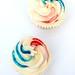 Royal Wedding cupcake swirls