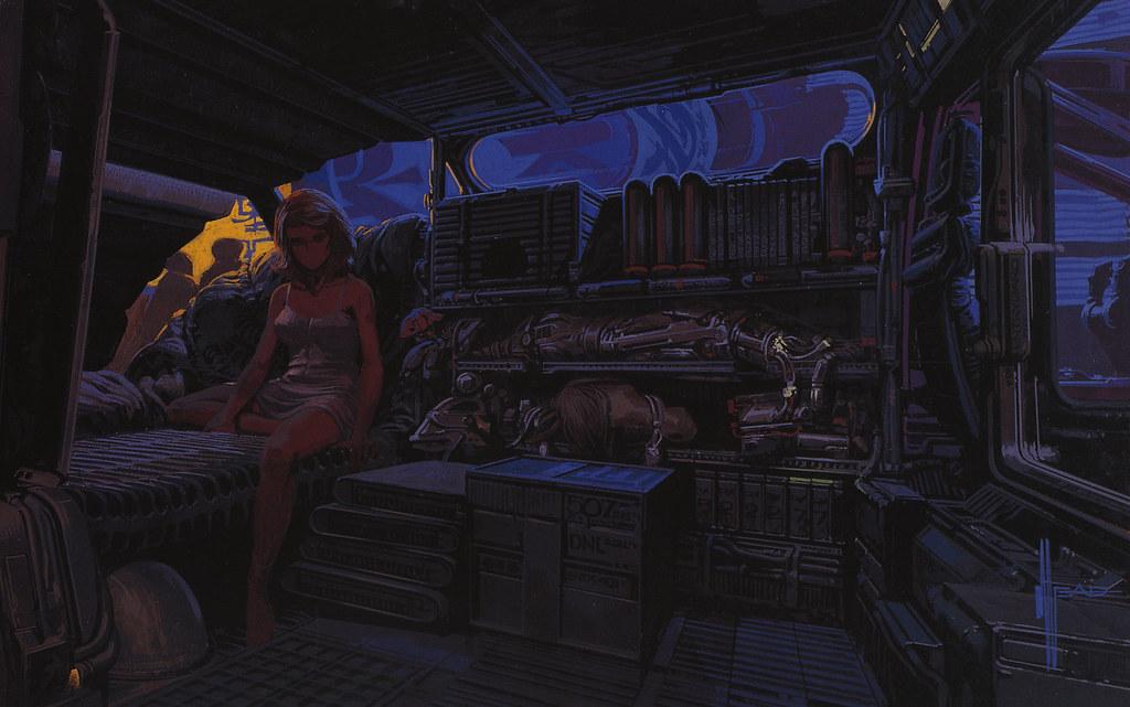 Interior Design Inspired By Blade Runner