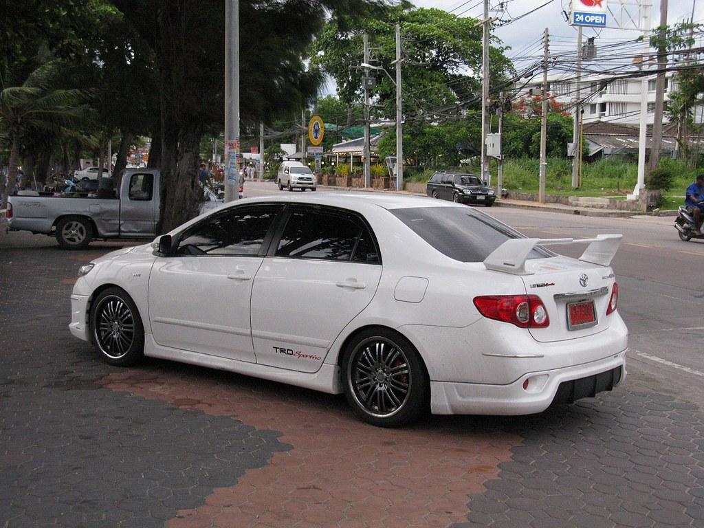 Toyota Corolla Altis Nakhon100 Flickr