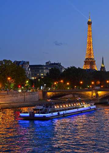 Eiffel Tower and Seine River, Paris, France. | by pedro lastra