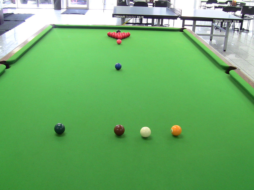 Pool table play on professional size snooker table - Professional pool table size ...