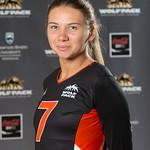 Alina Sopizhuk, WolfPack Women's Volleyball