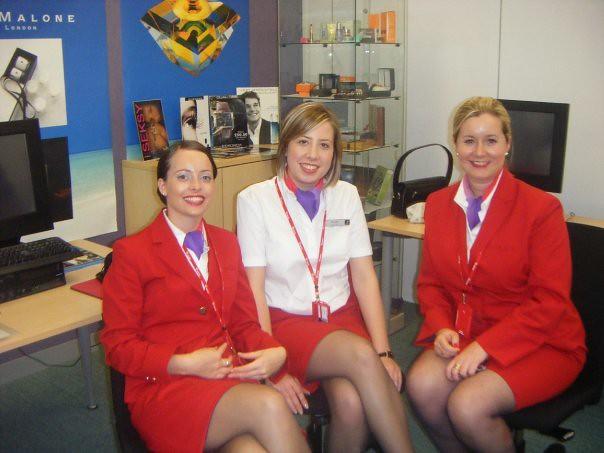 Stewardess strips for crew in flight - 4 5